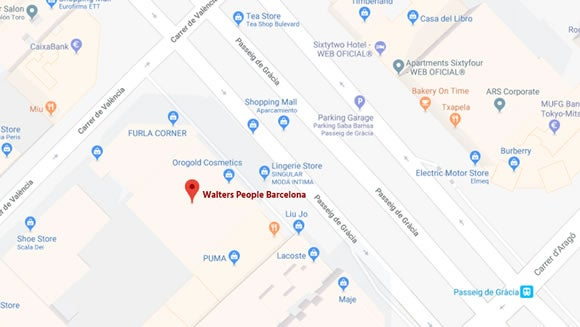 Espa a for Oficinas de trabajo temporal en barcelona